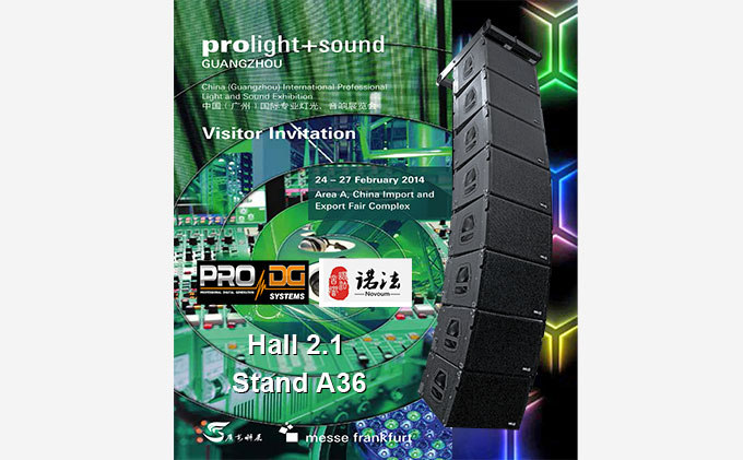 Pro DG Systems at Pro Light + Sound 2014 in Guangzhou