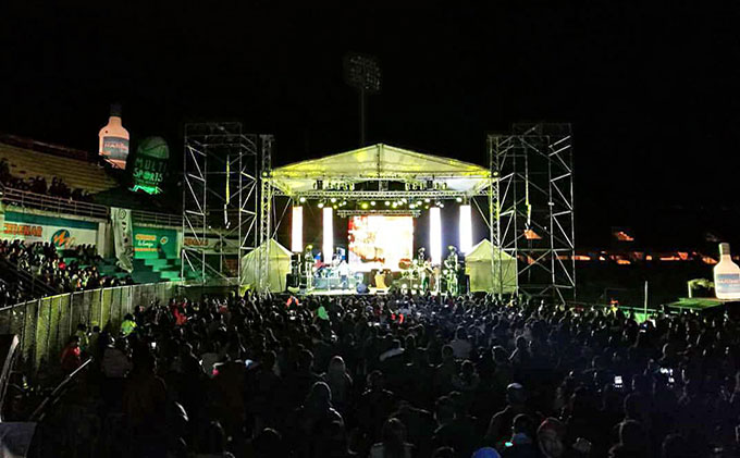 Super Concert in Pasto (Colombia) with Pro DG Systems