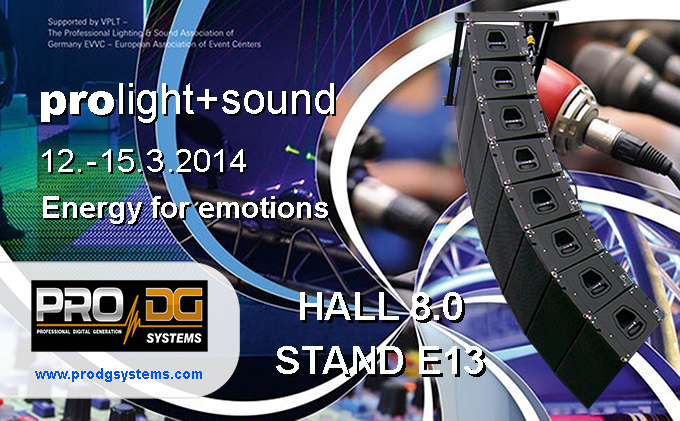 Pro DG Systems at Pro Light + Sound 2014 in Frankfurt